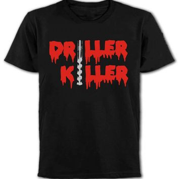 Driller Killer Cult 80's Horror Movie T Shirt