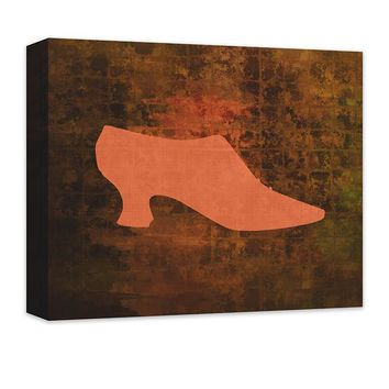 Shoe Fashion II Canvas Wall Art
