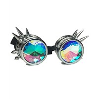 Spiky Kaleidoscope Steampunk Goggles (4 Colors)