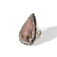 Pamela Love Ring - Jasper and Diamond Arrowhead Ring | BONA DRAG