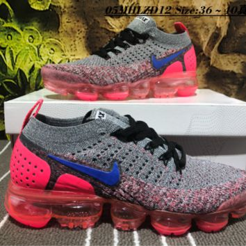 Nike Air Vapor Max Plyknit 2018 Causal Running Shoes Grey