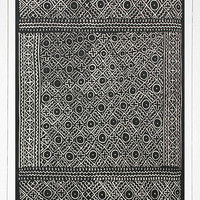 Gale Geo Printed 5x7 Black Rug - Urban Outfitters