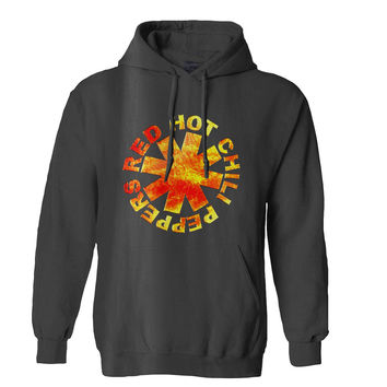 Red Hot Chili Peppers fire logo Mens Hoodie and Womens Hoodie