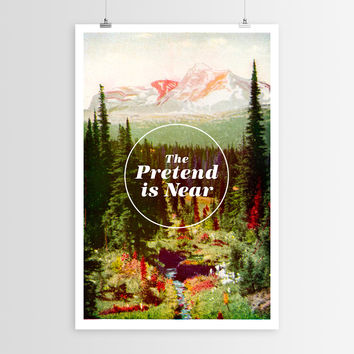 Nick Nelson's The Pretend is Near POSTER