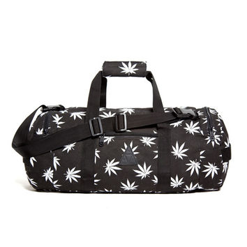HUF - PLANTLIFE DUFFEL BAG FALL13 // BLACK
