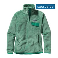 Patagonia Women's Re-Tool Snap-T® Fleece Pullover | Gypsum Green - Jade X-Dye