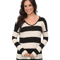 Lucky Brand Wide Stripe Top - Zappos.com Free Shipping BOTH Ways