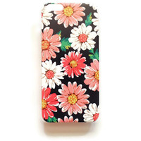 iPhone 6 Plus Case Vintage Floral iPhone 6 Plus Hard Case Romantic Floral Back Cover For iPhone 6 Plus Slim Design Case Vintage Flower