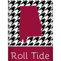 Alabama Roll Tide Houndstooth iPhone 6S Plus Extra Protective Bumper Case