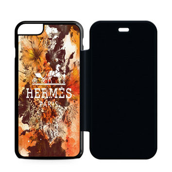Hermes Paris Rose Flip Case iPhone 6 | iPhone 6S | iPhone 6S Plus  Case
