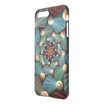 Modern Fractal Art with Depth Pattern iPhone 7 Plus Case