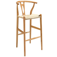 Amish Wood Bar Stool