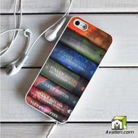 Harry Potter Book Collection iPhone 5|5S Case by Avallen