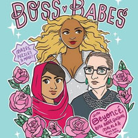 Boss Babes: A Coloring and Activity Book for Grown-Ups by Michelle Volansky