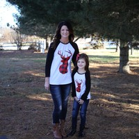 Mommy & Me Matching Holiday Shirts