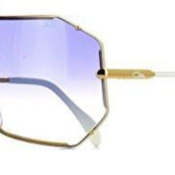 AUGUAU Cazal  Sunglasses Color purple and gold
