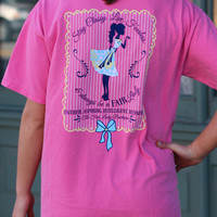 The Fair Lady Boutique Tee {Crunchberry}