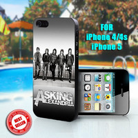 Asking Alexandria i Like To Party - Print on Hard Case - Fit For iPhone 4,4S, and 5 - Select an Option on Right Side