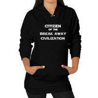 Future Citizen Hoodie (on woman)