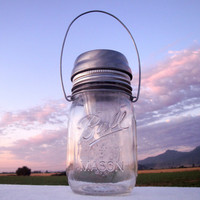 High Quality Mason Jar Solar Light LID   by CreativeCorksNMore