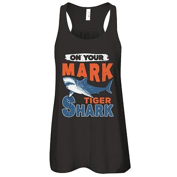 On Your Mark Tiger Shark Distressed