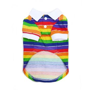 Rainbow Polo Shirt