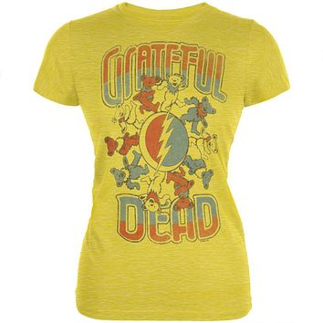 Grateful Dead - Bears Around Stealie Juniors T-Shirt