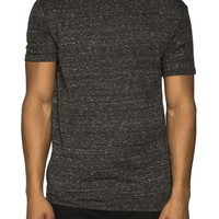 Guys Longer Length Crew Neck Tee