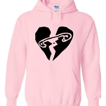 "5SOS 5 Seconds of Summer ""New Broken Scene"" Hoodie Sweatshirt"