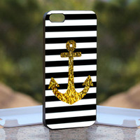 Anchor Gold Bling  Design available for iPhone 4 by monggoditumbas