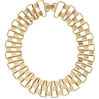 Gold Sleek Link Chain Necklace