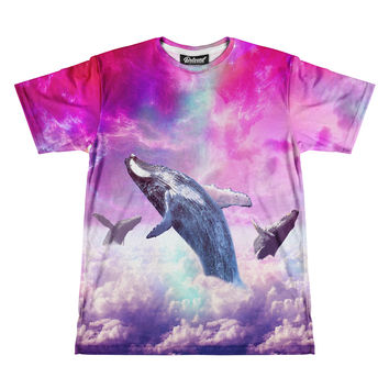 Cloud Whales Men's Tee