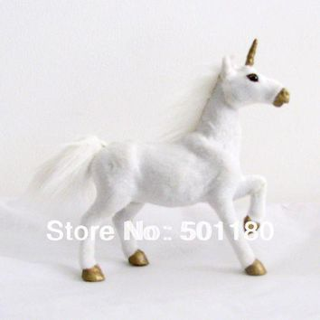 unicorn  handmade decorative horse