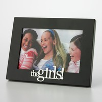 Malden ''The Girls'' Frame (Black/Silver)