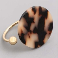 Tortoise Shell Split Ring