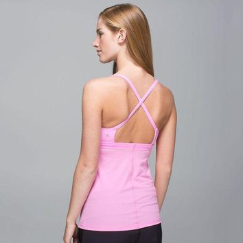 DCC3W Lululemon Fashion Backless Yoga Sport Vest Tank Top-2