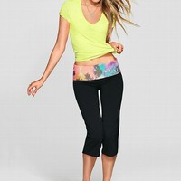 Bling Crop Yoga Pant