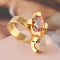 Stylish Shiny Gift New Arrival Jewelry Accessory Ring [4989642436]