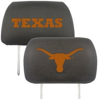 Texas Longhorns NCAA Polyester Head Rest Cover (2 Pack)