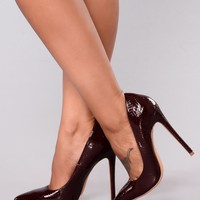 Patty Pointy Pump - Brown