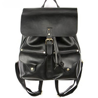 Buckle Double Strap Backpack