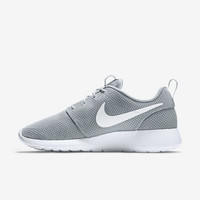 Nike Roshe Run On Grey White New in Box 511881-023 Men's Running Shoes