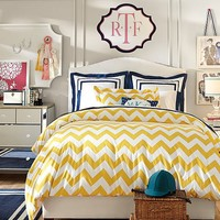 Raleigh Chevron Bedroom