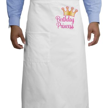 Birthday Princess - Tiara Adult Bistro Apron by TooLoud