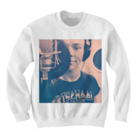 ASHTON IRWIN 5SOS SWEATSHIRT 5 SECONDS OF SUMMER BAND SHIRTS BIRTHDAY GIFTS CHEAP SHIRTS TREND FASHIONS CELEBRITY SHIRTS GRAPHIC TEES CHEAP SHIRTS
