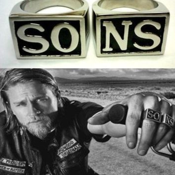 SAMCRO - Sons of Anarchy Rings SO NS