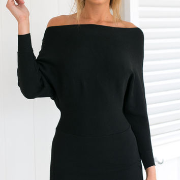 Lost Wonder Dress (Black)