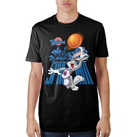 Space Jam Bugs Character Background T-Shirt