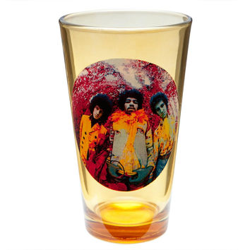 Jimi Hendrix - Experienced Album Art Pint Glass