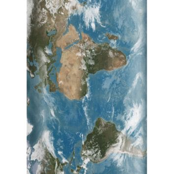Earth Map Yoga Mat
